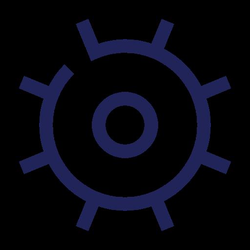 Icon Zahnrad